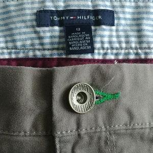 👖 TOMMY HILFIGER KHAKI PANT - 12
